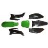 Plasticos ttr color azul o verde