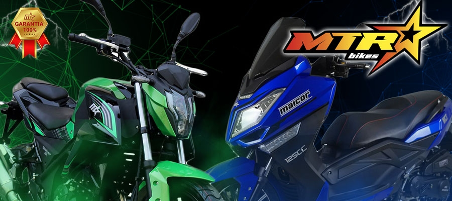 Motos matriculables de 125cc MTR